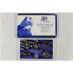 2003 US 50 STATE QUARTERS PROOF SET