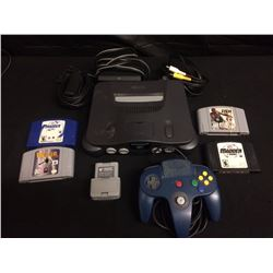 NINTENDO 64 GAMING SYSTEM W/ GAMES