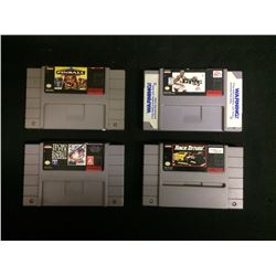 SUPER NINTENDO VIDEO GAME LOT