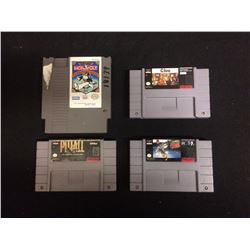 SUPER NINTENDO/ NINTENDO VIDEO GAME LOT