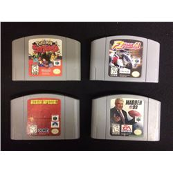 NINTENDO 64 VIDEO GAME LOT