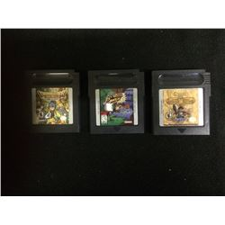 GAMEBOY VIDEO GAME LOT
