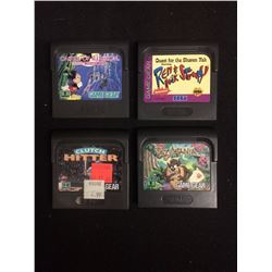 SEGA GAME GEAR VIDEO GAME LOT