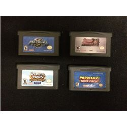 NINTENDO GAMEBOY ADVANCE VIDEO GAME LOT