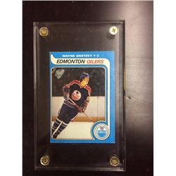 1978-79 TOPPS WAYNE GRETZKY ROOKIE HOCKEY CARD
