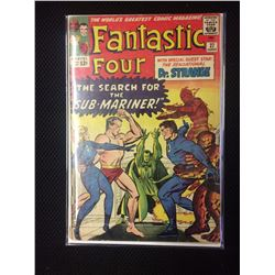 #27 SILVER AGE FANTASTIC FOUR MARVEL COMIC BOOK