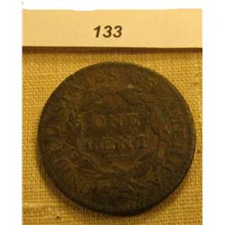 1819 U.S. Large Cent. Chocolate Brown, Fine.