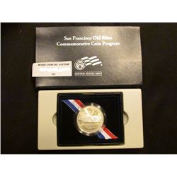 2006 S Old Mint U.S. Silver Dollar, Brilliant Uncirculated in original case of issue.