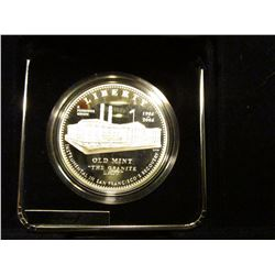 2006 S Old Mint U.S. Silver Dollar, Proof in original case of issue.