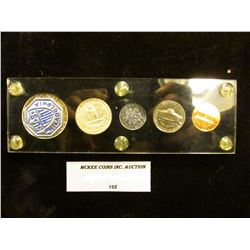 1959 P U.S. Proof Set in a Black Capital holder with gold lettering.