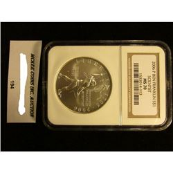 2006 P BEN FRANKLIN SCIENTIST SILVER DOLLAR NGC MS 70