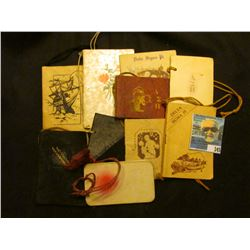(10) Fraternity or Sorority Booklets from the 1920s-30s.