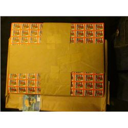 Original package of 10,000 Christmas Seals from 1932 for National Tuberculosis Association. Some moi
