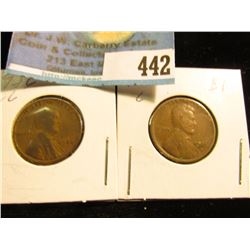 1926 P & D Lincoln Cents, Good-Very Good.