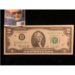 Series 1976 Two Dollar U.S. Bicentennial Note  CU.