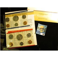 1986 U.S. Mint Set in original packaging as issued.