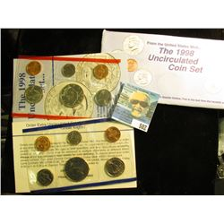 1998 U.S. Mint Set in original packaging as issued.