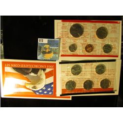 2003 P & D U.S. Mint Set in original packaging as issued.