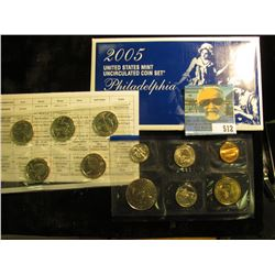 2005 P & D U.S. Mint Set in original packaging as issued.
