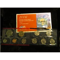 2006 P & D U.S. Mint Set in original packaging as issued.