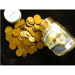 Gerber Baby food jar full of old Wheat Cents, which I have not had time to sort.