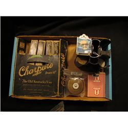 "Original box containing (4) packs ""Charpure In-a-Bag The Old Kentucky Way"" used for distilling Whisk"