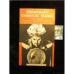 "1952 ""Chemcraft Chemical Magic Mystifying Magical Demonstrations The Porter Chemical Company, Hagers"