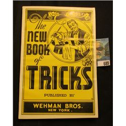 """The New Book of Tricks"" published by Wehman Bros. New York."