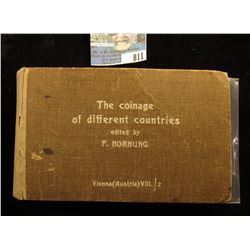 "Hardbound Extremely Rare Book ""The Coinage of Different Countries"" Edited by F. Hornung, Vienna (Aus"