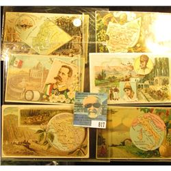 (6) Different advertising cards for Arbuckle Bros. Coffee Co., New York City. Includes Peru; Italy;