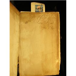"""Wm. Peters Bible April 13th, 1819"" Nurnberg Bible 1765 ""Biblia,…Herrn Doctor Martin Luther…"" contai"