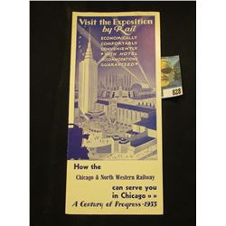 """""""Visit the Exposition by Rail Economically Comfortably Conveniently With Hotel Accomodation Guarante"""