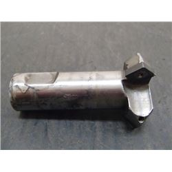 """Indexable 1-3/8"""" Chamfer Mill, 3/4"""" Shank"""