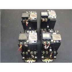 Allen Bradley Bulletin 700 Timing Units, 4 Total