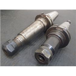 CAT40 ER20 Collet Chucks, 2 Total