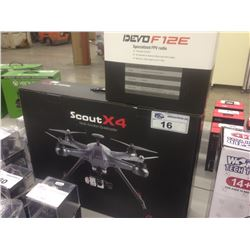 SCOUTX4 MULTI-FUNCTION QUADCOPTER DRONE