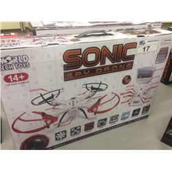WORLD TECH TOYS SONIC SPY DRONE WITH VIDEO CAMERA
