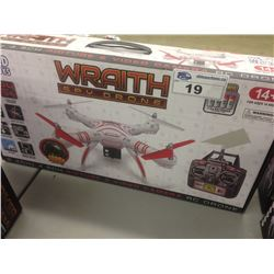 WORLD TECH TOYS WRAITH SPY DRONE WITH VIDEO CAMERA