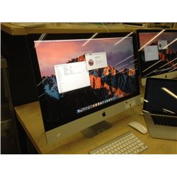 APPLE IMAC 14,2 DESKTOP COMPUTER WITH WIRELESS KEYBOARD AND WIRELESS MOUSE, 3.4 GHZ I5, 32 GB 1600