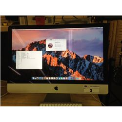 APPLE IMAC 14,2 DESKTOP COMPUTER WITH WIRELESS KEYBOARD AND WIRED MOUSE, 3.2 GHZ I5, 24 GB 1600