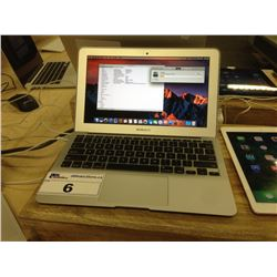 APPLE MACBOOK AIR 7,1, 1.6 GHZ INTEL CORE I5, 4 GB 1600 MHZ DDR3 RAM, INTEL HD GRAPHICS 6000 1536