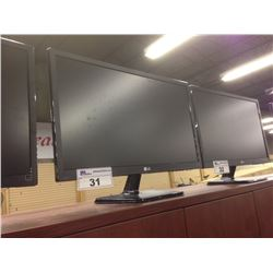LG 24'' FLAT SCREEN COMPUTER MONITOR