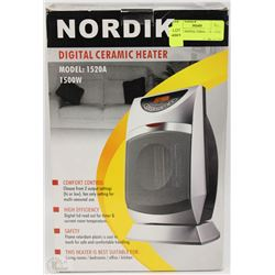 NORDIC DIGITAL CERAMIC HEATER