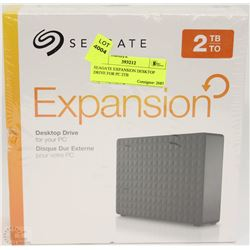 SEAGATE EXPANSION DESKTOP DRIVE FOR PC 2TB