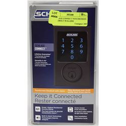 SCHLAGE CONNECT TOUCHSCREEN DEADBOLT W/ALARM