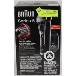 BRAUN SERIES 5 FLEX MOTIONTEC SHAVER