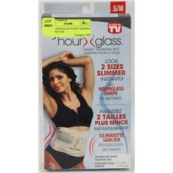 GENIE HOURGLASS WAIST TRAINING BELT SIZE S/M