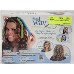 HOT WAVZ FOR PERFECT WAVED HAIR