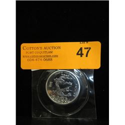 2012 Yr. of the Dragon .999 Silver Art Round