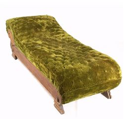 Quarter Sawn Oak Fainting Couch Early 1900